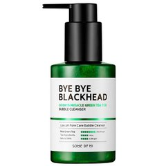 Маска-пенка от чёрных точек Some By Mi Blackhead 30Days Miracle Green Tea Tox Bubble Cleanser