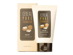 Пенка-скраб для лица c  маслом грецкого ореха Some By Mi Cereal Pore Foam Crub Cleansing & Scrub