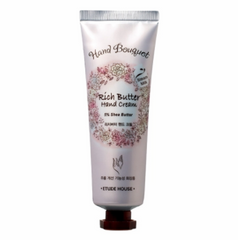 Питательный крем для рук Etude House HAND BOUQUET RICH BUTTER HAND CREAM