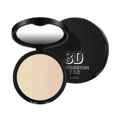 Триколірний хайлайтер A'pieu 3D Highlighting Kit