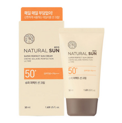 Солнцезащитный крем SPF50+PA+++  The Face Shop Natural Sun Eco Super Perfect Sun Cream SPF50+PA+++