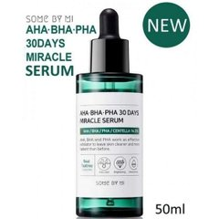 Сыворотка с комплексом кислот AHA,BHA,PHA  для проблемной кожи SOME BY MI AHA/BHA/PHA 30 Days Miracle Serum